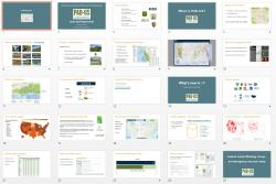 Some of the slides in the Powerpoint deck