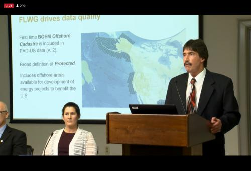 Doug Vandegraft, chair of the Federal Lands Working Group