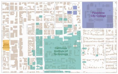 Campus boundaries