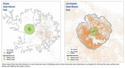 Rural vs. Urban driving catchments