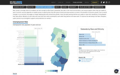 county view with race/ethnicity data