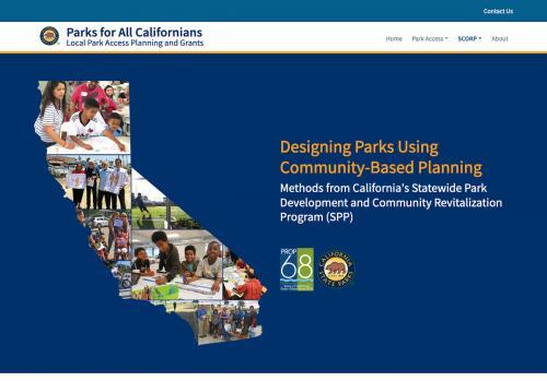 Community-based park design cover, web optimized