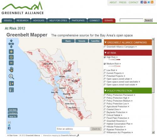Greenbelt Alliance Mapper