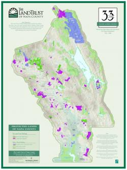 Earlier Napa County Protected Lands Map