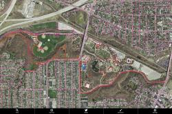 Detailed View of Cleveland Trail Finder