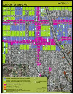 Infill Analysis Map