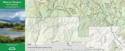 2nd Edition Save Mt. Diablo Trail Map