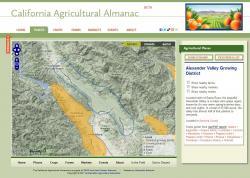 Crop District Web Page