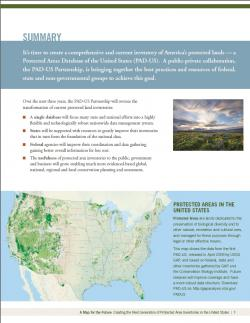 Protected Areas Report, Inside Page
