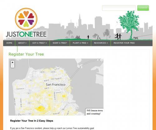 Lemon Tree Web Map