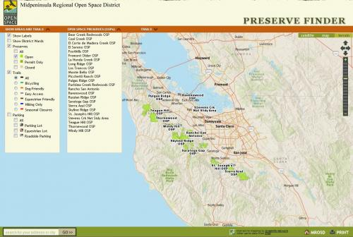 MROSD Preserve Finder
