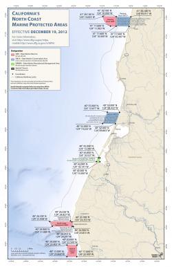 North Coast MPA Map - Reading to Mattole