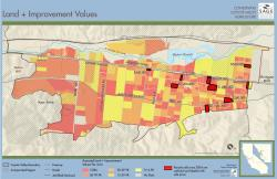 Land and Improvement Values Map
