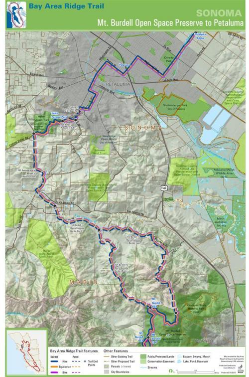 Ridge Trail Council Planning Map