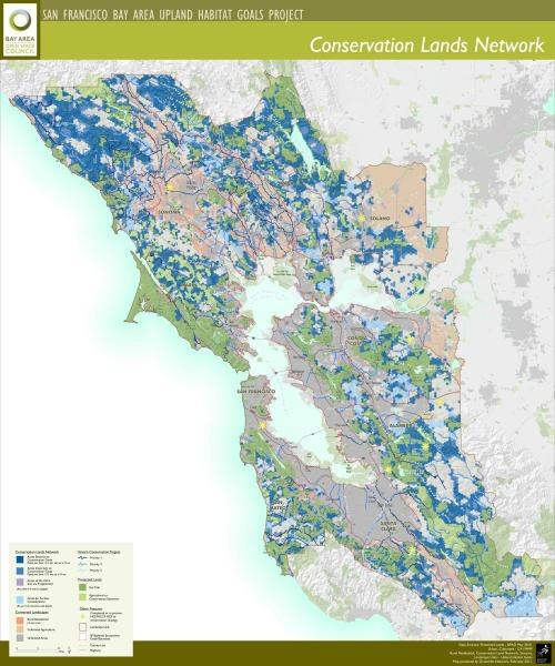 Conservation Lands Network Map