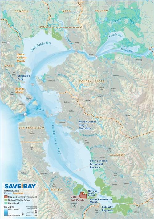 Restoration Sites Map
