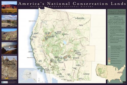 National Conservation Lands Map