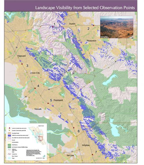 Landscape Visibility Map