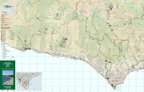 Trail Map for City of Malibu