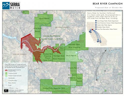 Bear River Campaign Map