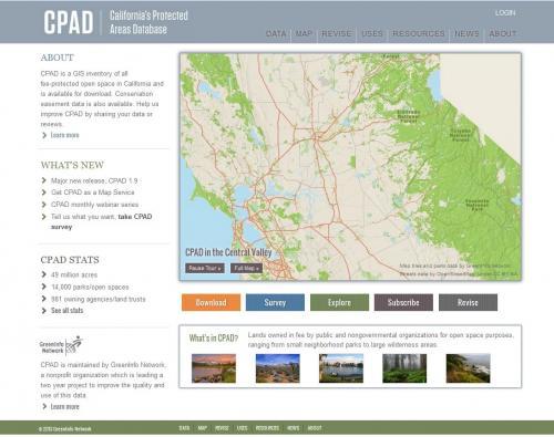 CPAD Web Site
