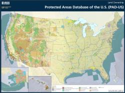 Map of U.S. Protected Lands by Owner