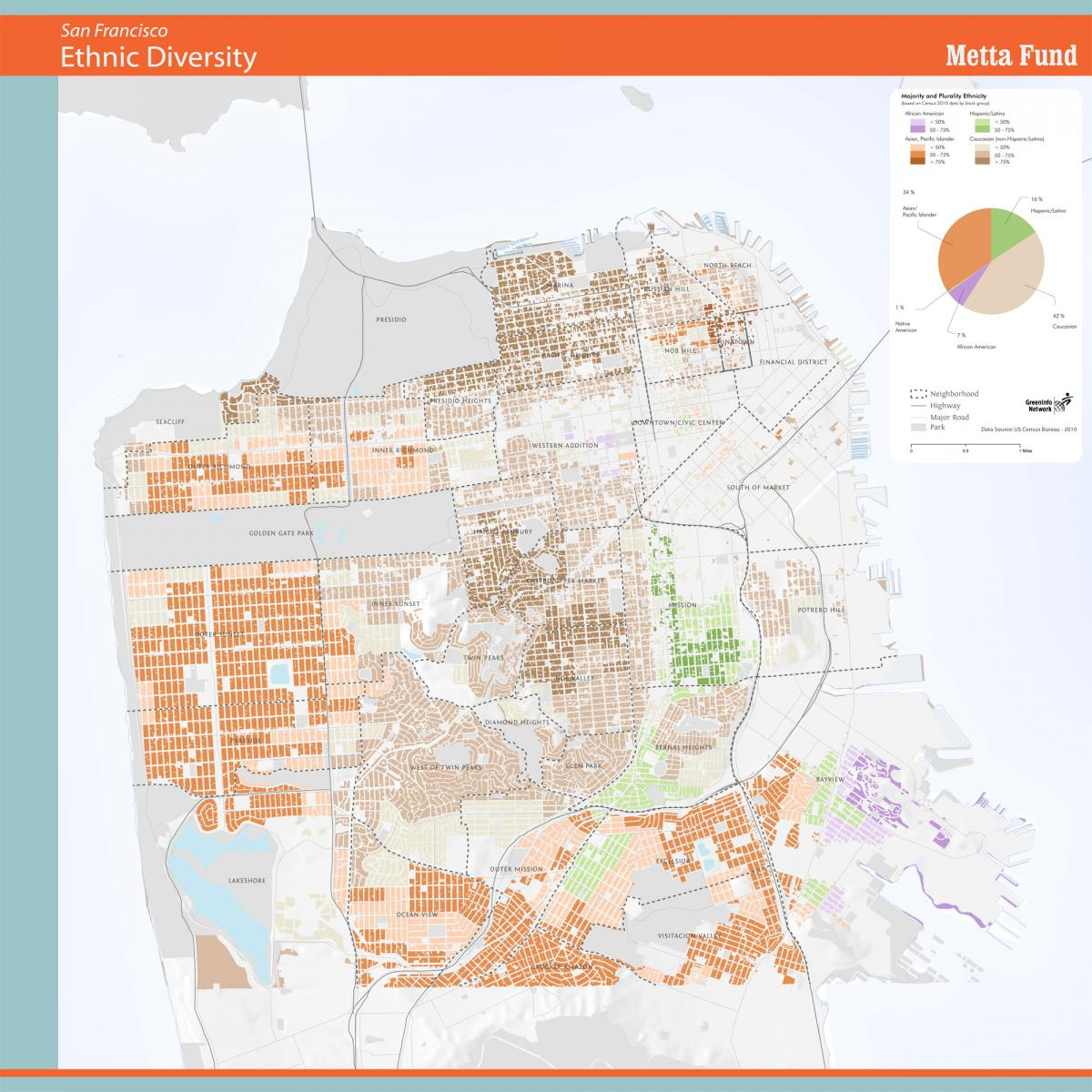 GreenInfo Network Information And Mapping In The Public Interest - Demographic map