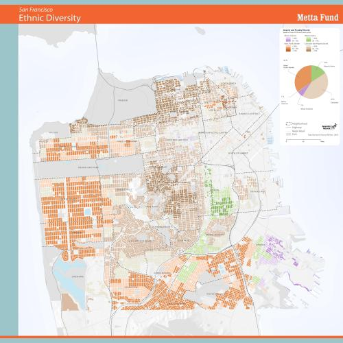 Ethnic Majorities in San Francisco Residential Areas