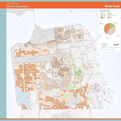 Ethnic Majorities in San Francisco Residential Areas