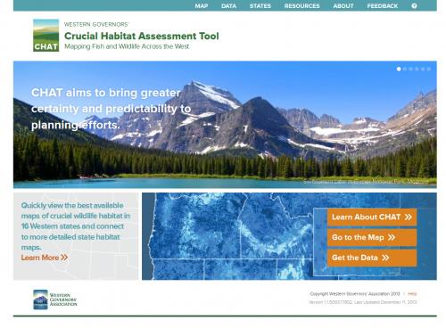 WGA Critical Habitat Home Page