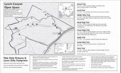 Map Used in Trails Brochure