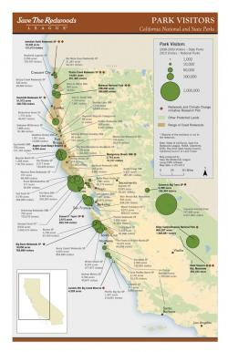 Map Of California Redwoods.Greeninfo Network Information And Mapping In The Public Interest