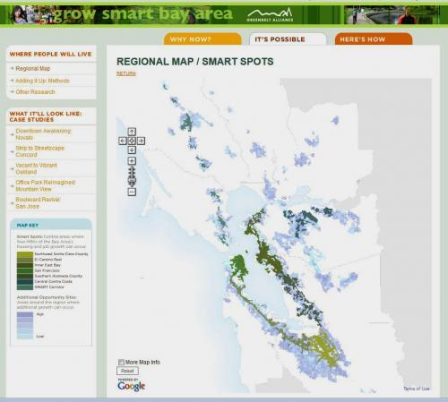 Infill/Smart Growth Web Map