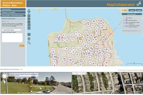 MapCollaborator - School Boundaries Edition