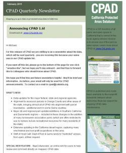 CPAD E-Newsletter