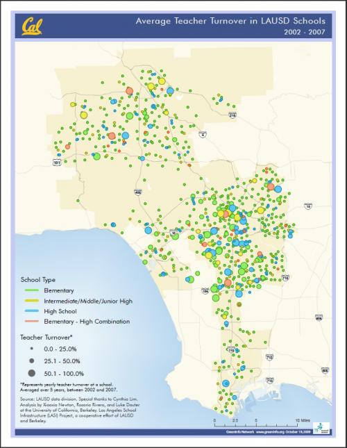 Teacher Turnover, LAUSD