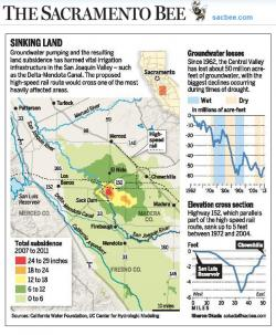 GreenInfo Map Used for Newspaper Report