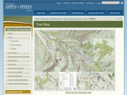 City of Aspen Web Site for Map
