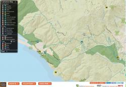 Close Up View of GGNPC Trail FInder