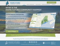 Maine Community Futures website home page