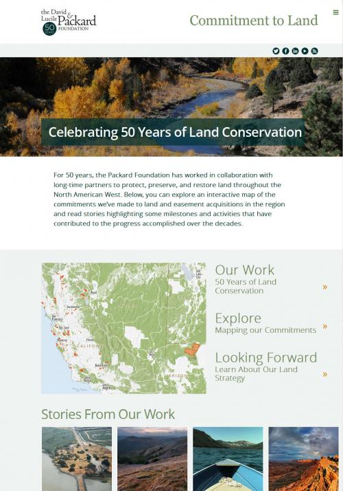 Packard Conservation Atlas Home Page