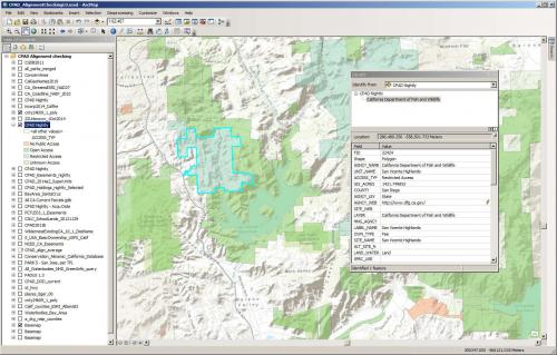 GIS Tools for Reviewing Park Access Status
