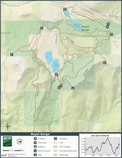 Recreation Map Template: Royal Gorge