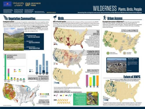 Wilderness Poster for Academic Conference