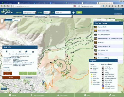 PitkinOutside - Desktop Mapper