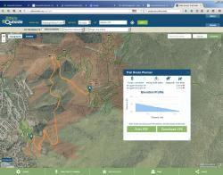 PitkinOutside - Plan Your Hike Tool