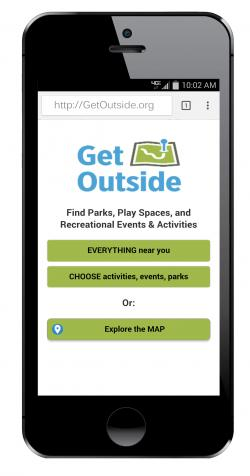 GetOutside on a Phone