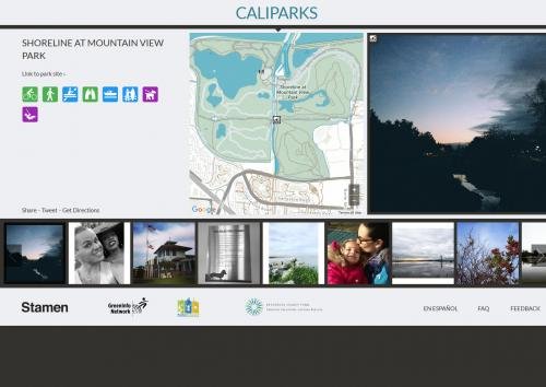 CPAD data in CaliParks.org
