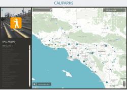 Greeninfo Recreation Data in CaliParks