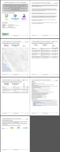 ClimateBenefitsCA Report Example